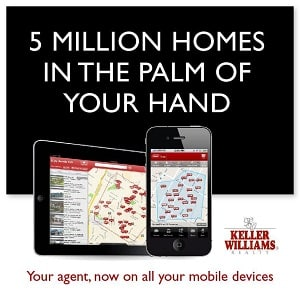 Keller Williams Home Search Mobile App - Team Tag It Sold