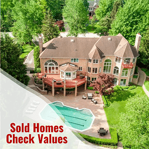 Sold Homes in Metro Detroit MI - Look up Home Values