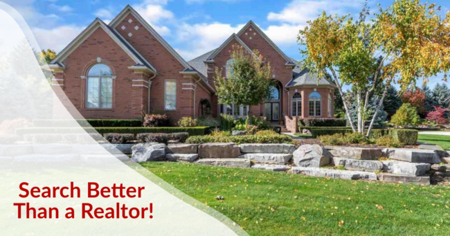 Search  Better than a Realtor in Metro Detroit MI  Homes for Sale