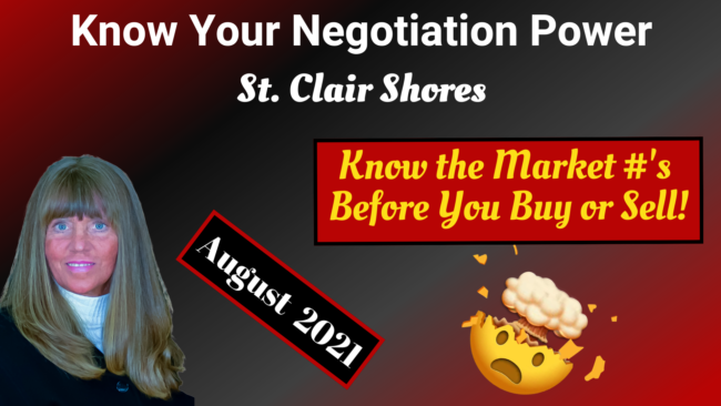 Housing Market Trends for St. Clair Shores MI - Team Tag It Sold