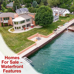 Washington Twp MI Homes for Sale - Water Features