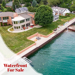St Clair Shores Homes for Sale Waterfront