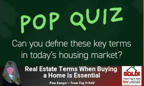 Real Estate Terms When Buying a Home